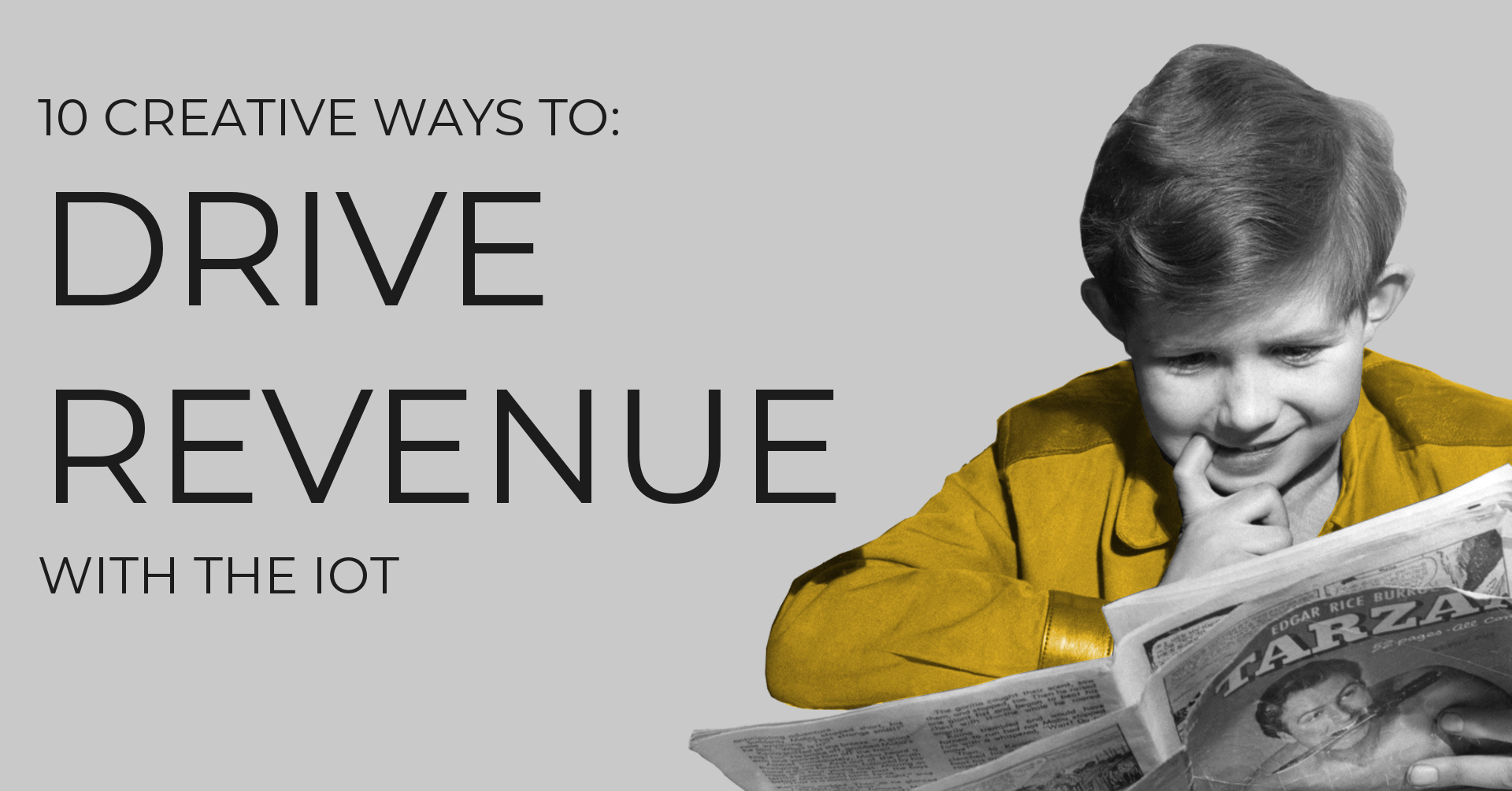 10 Creative Ways to Drive Revenue with the IoT