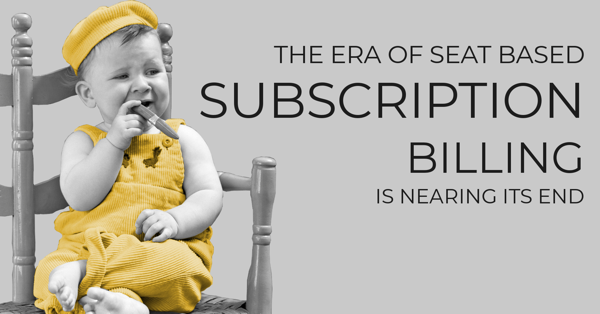 The Era of Seat Based Subscription Billing is Nearing its End