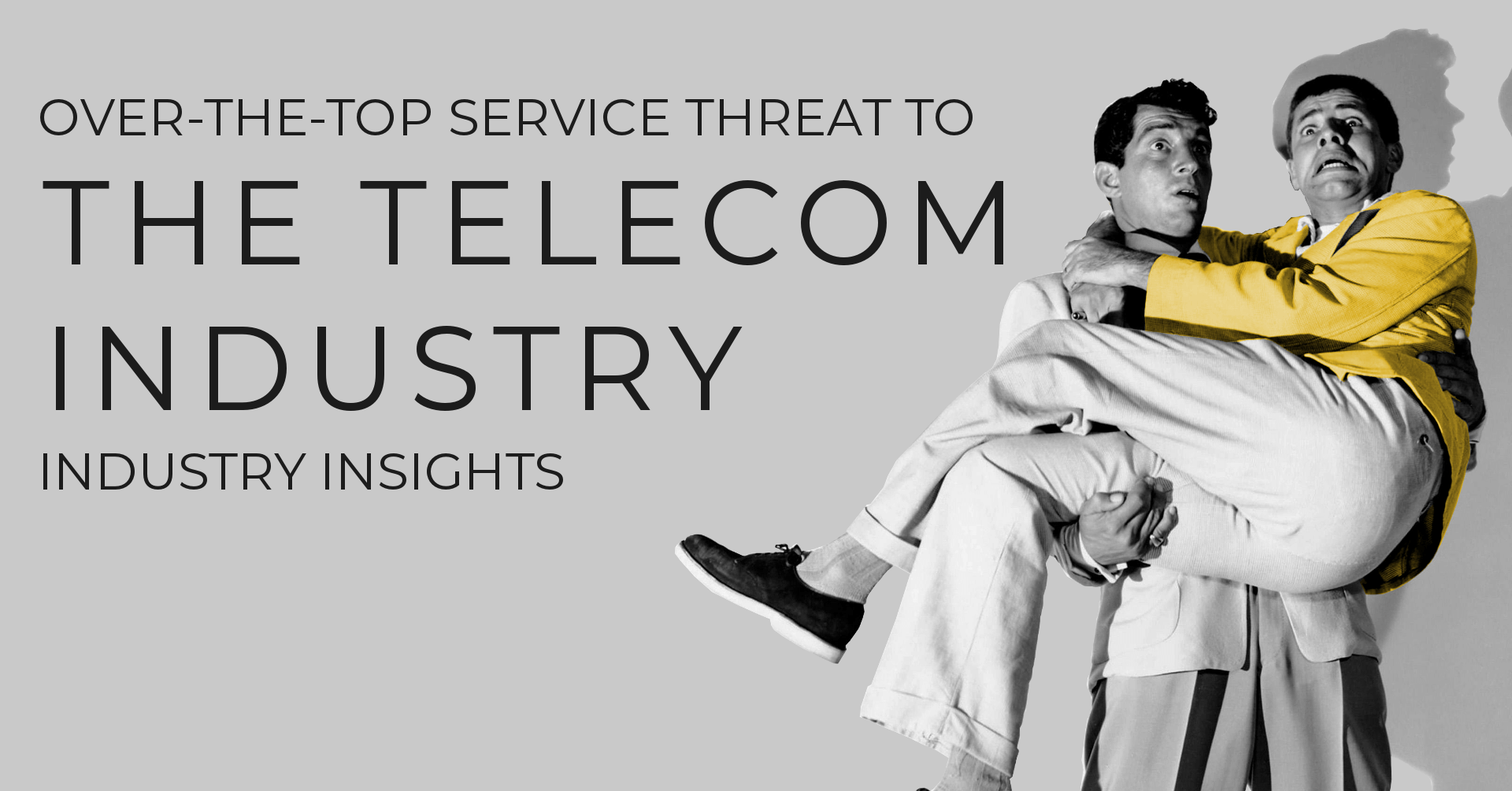The Over-The-Top Service Threat to the Telecommunications Industry