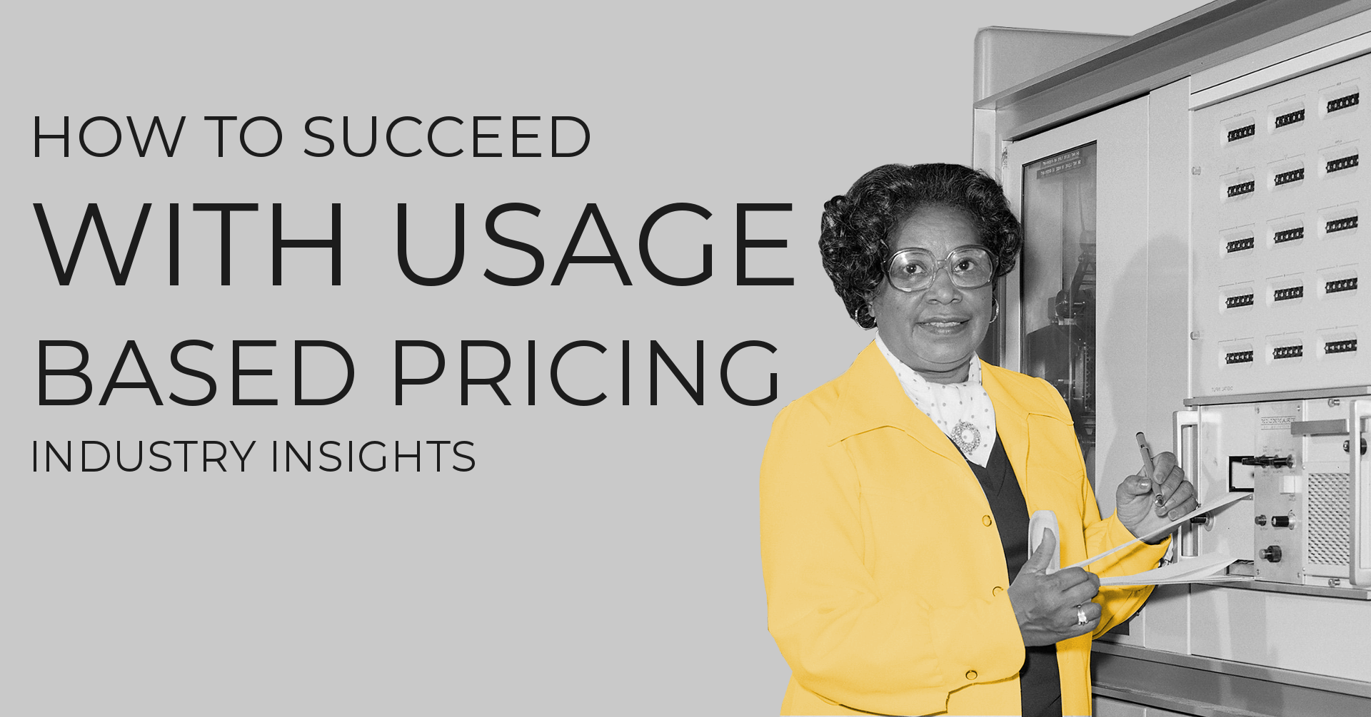 How To Succeed with Usage-Based Pricing?